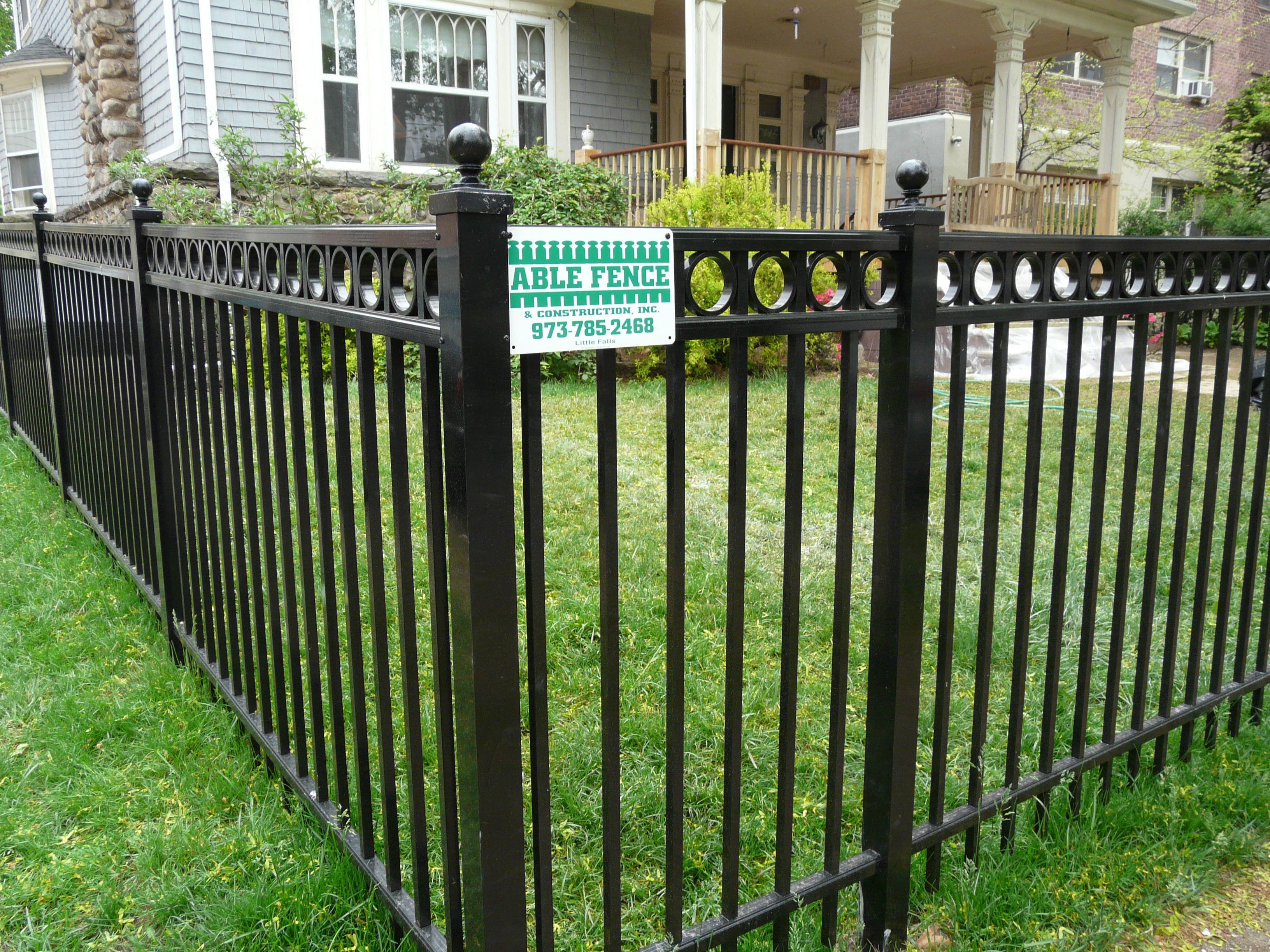Marvelous Fence Company NJ Wayne Passaic Essex Morris Bergen County NJ Ornamental  Aluminum FenceDecorative Aluminum Fencing Echelon