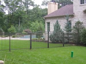 Pool Code Fence