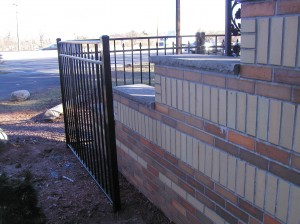 Custom fitted Ornamental Fence