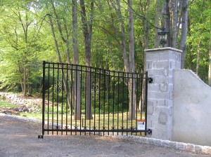 Ornamental Aluminum Gate