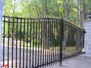 Ornamenetal Aluminum Gate