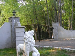 Aluminum Ornamental Gate