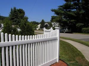 PVC Victorian Fence