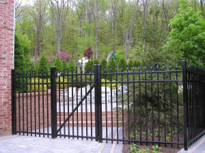 Aluminum Ornamental walk In Gate