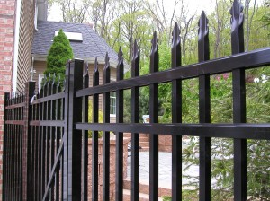 Aluminum Ornamental Fence with Gate