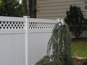 PVC T&G Privacy Fence