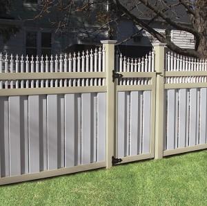 Pvc Mix color Fence